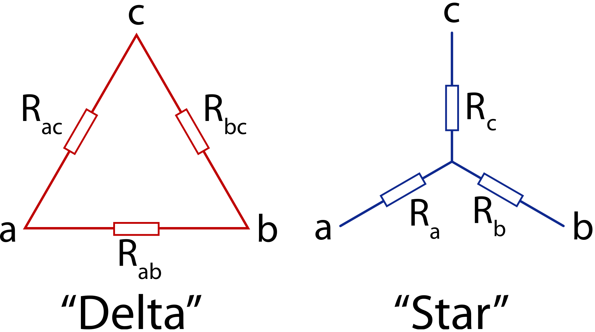 Difference between Star and Delta Connections - Engineering Tutorial