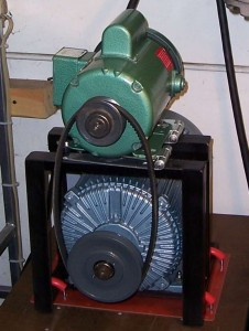 Pony Motor Method or Induction Motor