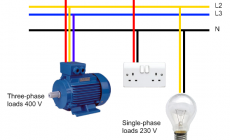 Advantages of Three Phase System Compared to Single Phase System