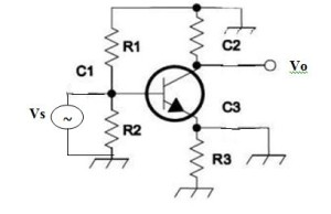 Equivalent Common Emitter circuit for AC signals