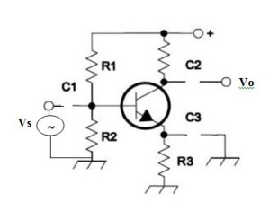 Equivalent Common Emitter circuit for DC signals