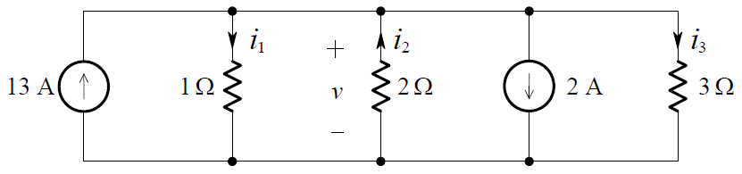 KCL Example the two node circuit