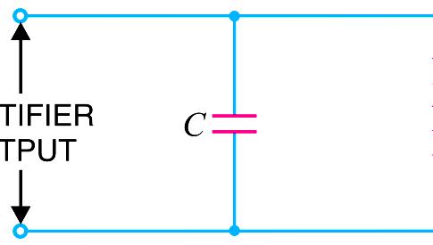 Capacitor filter Principle