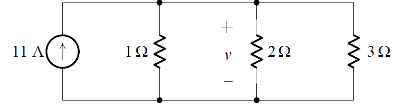 Combining the parallel independent current sources example 1