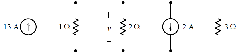Combining the parallel independent current sources example
