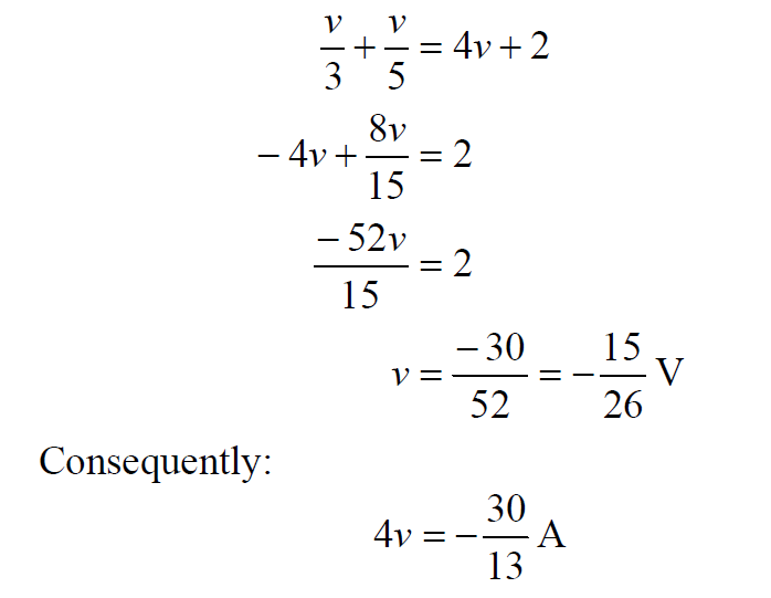 Dependent Current Source Equation