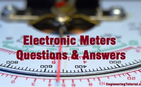 Electronic Meters Questions & Answers