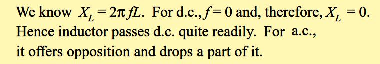 Inductor Principle