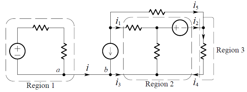 Kirchhoff's Current Law Example Circuit