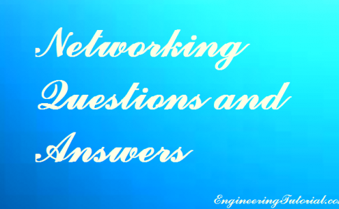 Networking Questions and Answers