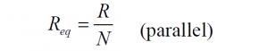 Parallel Resistors 3