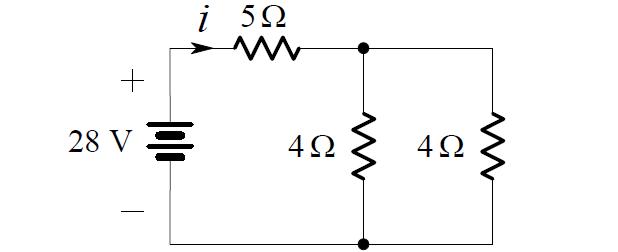 Parallel Resistors Circuit Example 2