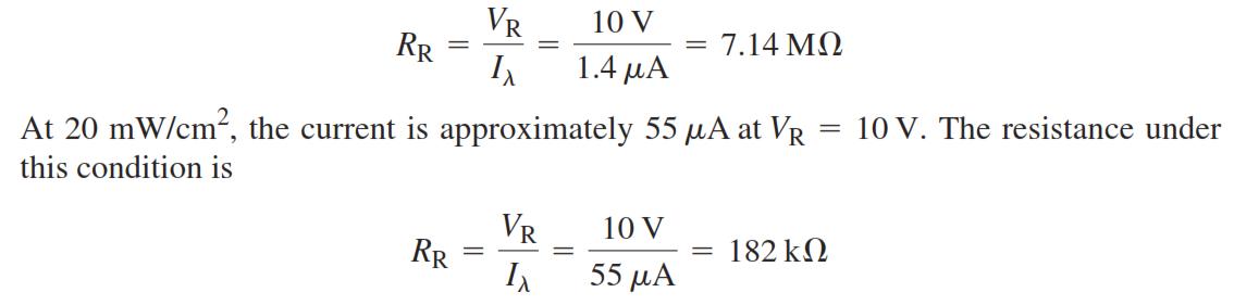 PhotoDiode Equation