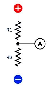 Resistor Used For Voltage Divider