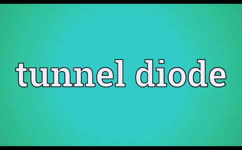 Tunnel Diode Working Principle