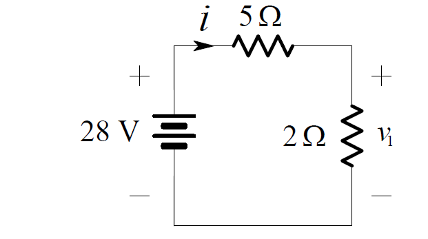 Voltage Divider Rule Circuit Example 2