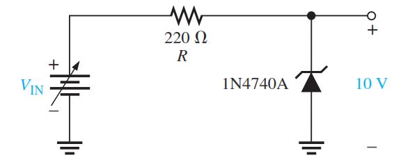 zener diode voltage regulator operation