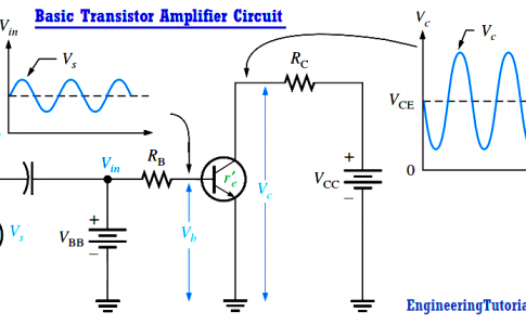 Basic Transistor Amplifier Circuit