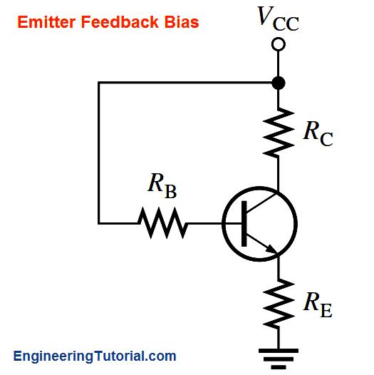 transistor emitter feedback bias