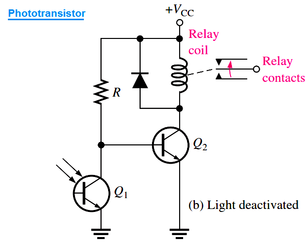 phototransistor circuit example