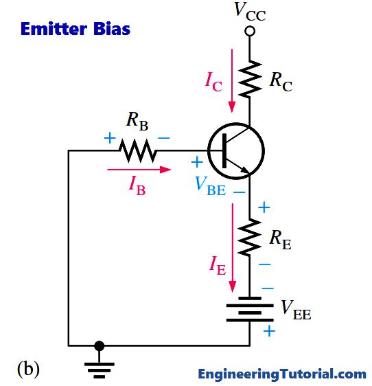Transistor Emitter Bias