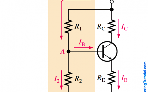 Transistor Voltage Divider Bias Circuit