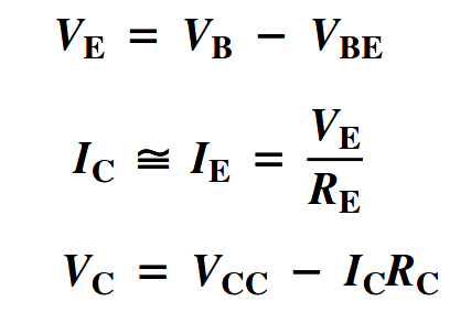 Voltage Divider Bias formula 2